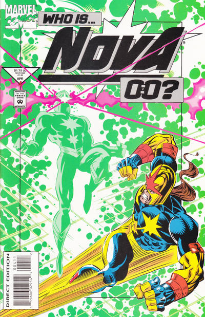 Cover for Nova (Marvel, 1994 series) #4 [Direct Edition]