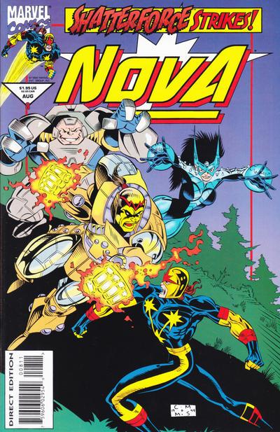 Cover for Nova (Marvel, 1994 series) #8