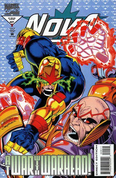 Cover for Nova (Marvel, 1994 series) #9