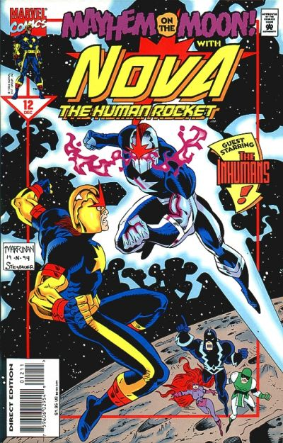 Cover for Nova (Marvel, 1994 series) #12