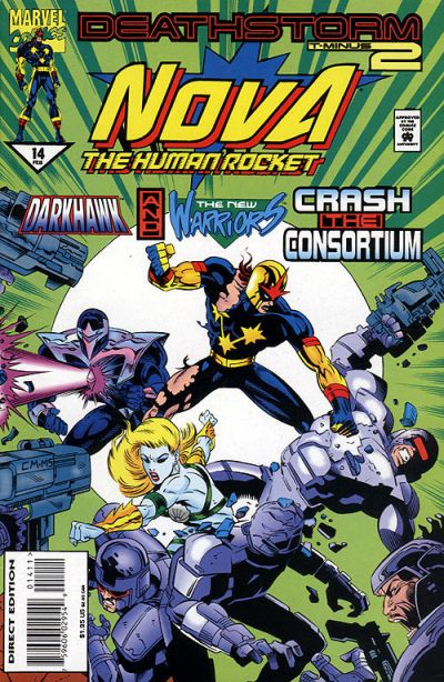 Cover for Nova (Marvel, 1994 series) #14