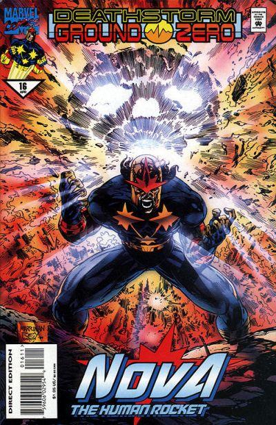 Cover for Nova (Marvel, 1994 series) #16