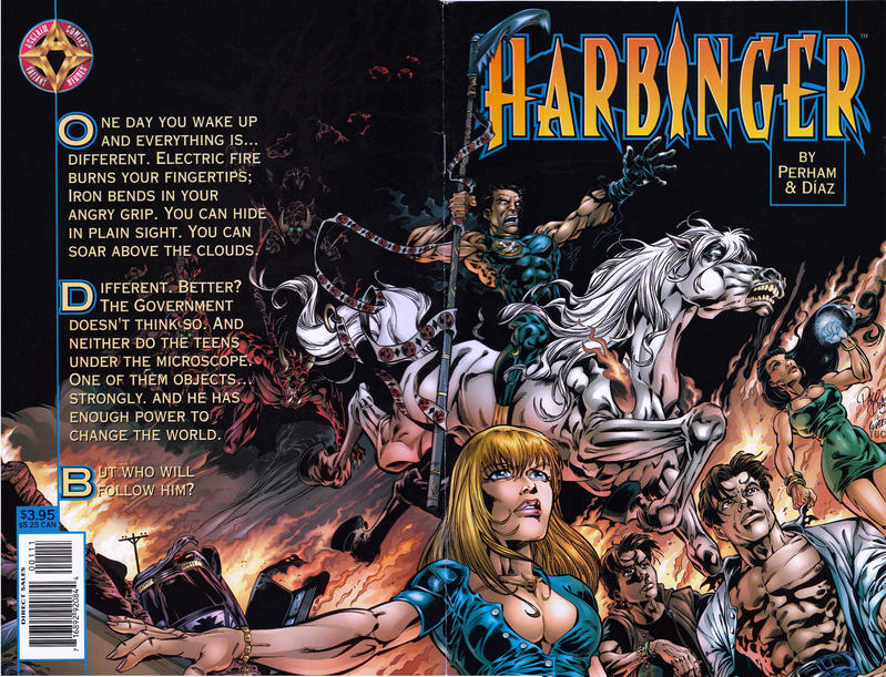 Cover for Harbinger: Acts of God (Acclaim / Valiant, 1998 series) #1