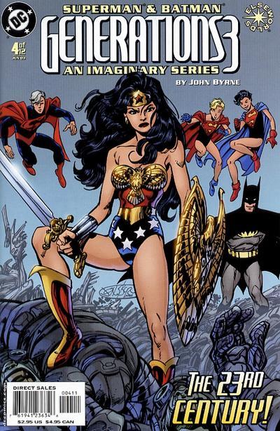 Cover for Superman & Batman: Generations III (DC, 2003 series) #4