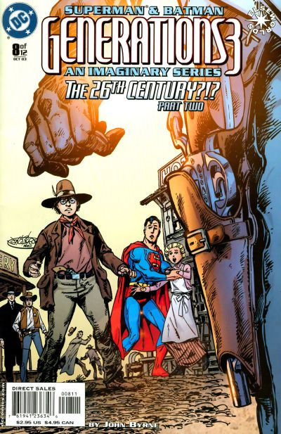 Cover for Superman & Batman: Generations III (DC, 2003 series) #8
