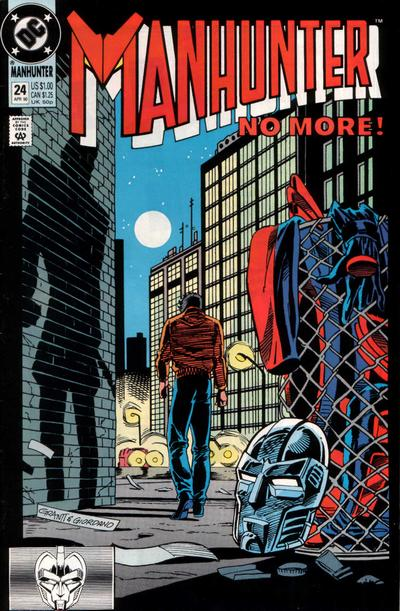 Cover for Manhunter (DC, 1988 series) #24 [Direct]