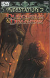 Cover Thumbnail for Infestation 2: Dungeons & Dragons (2012 series) #1 [Cover B - Livio Ramondelli]