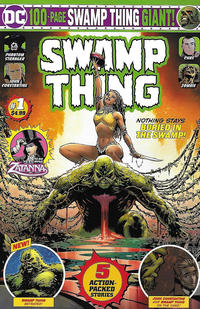 Cover Thumbnail for Swamp Thing Giant (DC, 2019 series) #1 [Direct Market Edition]