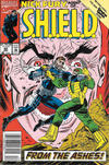Cover for Nick Fury, Agent of S.H.I.E.L.D. (Marvel, 1989 series) #42 [Newsstand]