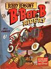 Cover for Bobby Benson's  B-Bar-B Riders (World Distributors, 1950 series) #1