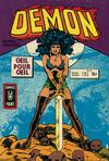 Cover for Démon (Arédit-Artima, 1976 series) #10