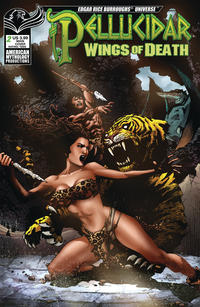 Cover Thumbnail for Pellucidar: Wings of Death (American Mythology Productions, 2019 series) #2 [Main Cover]