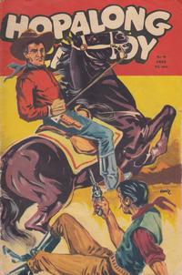 Cover Thumbnail for Hopalong Cassidy (Sefyrforlaget, 1953 series) #8/1953