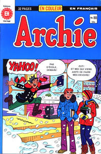 Cover Thumbnail for Archie (Editions Héritage, 1971 series) #88