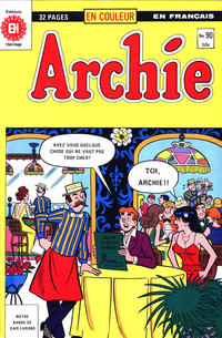 Cover Thumbnail for Archie (Editions Héritage, 1971 series) #90
