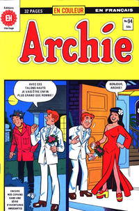 Cover Thumbnail for Archie (Editions Héritage, 1971 series) #94