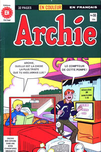 Cover Thumbnail for Archie (Editions Héritage, 1971 series) #98