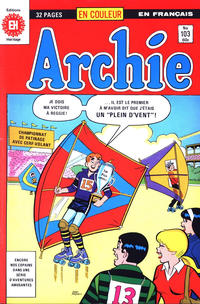 Cover Thumbnail for Archie (Editions Héritage, 1971 series) #103
