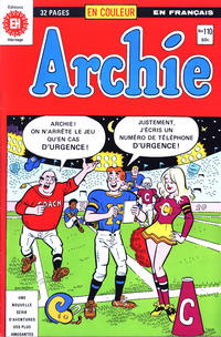 Cover Thumbnail for Archie (Editions Héritage, 1971 series) #110