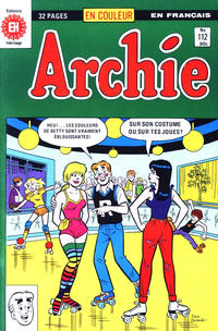 Cover Thumbnail for Archie (Editions Héritage, 1971 series) #112