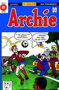 Cover Thumbnail for Archie (Editions Héritage, 1971 series) #115