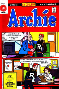 Cover Thumbnail for Archie (Editions Héritage, 1971 series) #119