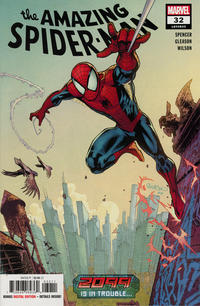 Cover Thumbnail for Amazing Spider-Man (Marvel, 2018 series) #32 (833)