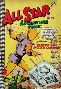 Cover Thumbnail for All Star Adventure Comic (K. G. Murray, 1959 series) #19