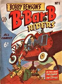 Cover Thumbnail for Bobby Benson's  B-Bar-B Riders (World Distributors, 1950 series) #1