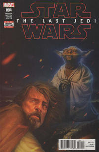Cover Thumbnail for Star Wars: The Last Jedi Adaptation (Marvel, 2018 series) #4 [Rahzzah]