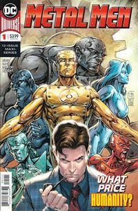 Cover Thumbnail for Metal Men (DC, 2019 series) #1