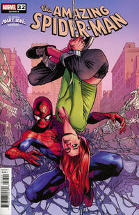 Cover Thumbnail for Amazing Spider-Man (Marvel, 2018 series) #32 (833) [The Amazing Mary Jane Variant - Mahmud Asrar Cover]