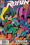 Cover for Robin (DC, 1993 series) #4 [Newsstand]