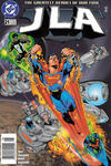 Cover for JLA (DC, 1997 series) #21 [Newsstand]
