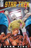 Cover for Star Trek: Year Five (IDW, 2019 series) #7 [Regular Cover]