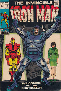 Cover Thumbnail for Iron Man (Marvel, 1968 series) #12 [British]