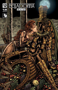Cover Thumbnail for Belladonna: Fire and Fury (Avatar Press, 2017 series) #12 [Wraparound Variant]