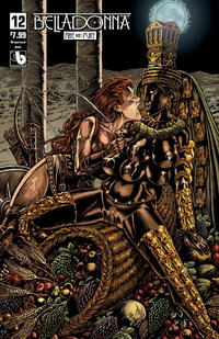 Cover Thumbnail for Belladonna: Fire and Fury (Avatar Press, 2017 series) #12 [Wraparound Nude Variant]