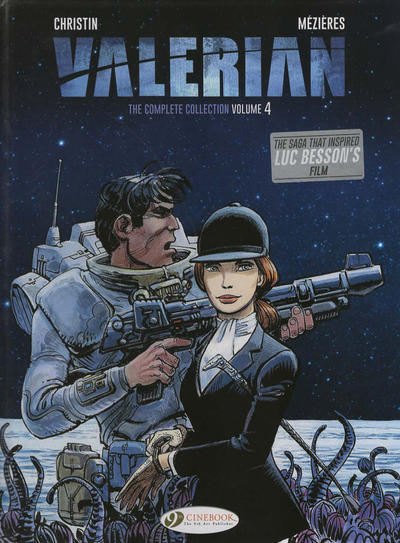 Cover for Valerian the Complete Collection (Cinebook, 2017 series) #4