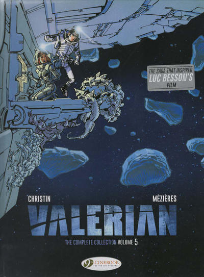 Cover for Valerian the Complete Collection (Cinebook, 2017 series) #5