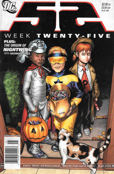 Cover for 52 (DC, 2006 series) #25 [Direct Sales]
