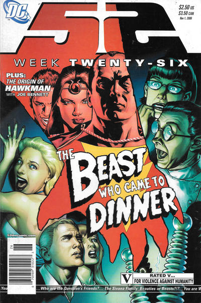 Cover for 52 (DC, 2006 series) #26 [Newsstand]
