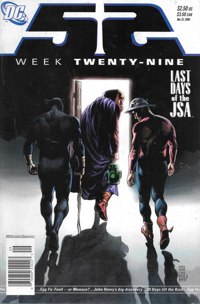 Cover for 52 (DC, 2006 series) #29 [Direct Sales]