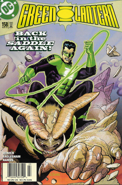 Cover for Green Lantern (DC, 1990 series) #158 [Direct Sales]
