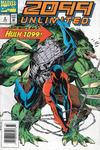 Cover for 2099 Unlimited (Marvel, 1993 series) #2 [Australian]