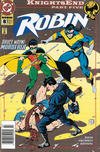 Cover for Robin (DC, 1993 series) #8 [Newsstand]
