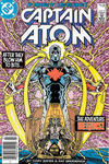 Cover Thumbnail for Captain Atom (1987 series) #1 [Newsstand]