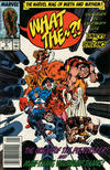 Cover for What The--?! (Marvel, 1988 series) #6 [Newsstand]