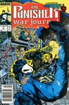 Cover Thumbnail for The Punisher War Journal (1988 series) #3 [Newsstand]