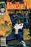 Cover for The Punisher War Journal (Marvel, 1988 series) #23 [Newsstand]